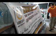Suriye'de sıcak Ramazan ayında sıcak çatışma bölgelerine su yardımı