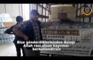 Türkmen Dağı'na en uç noktalara su yardımı