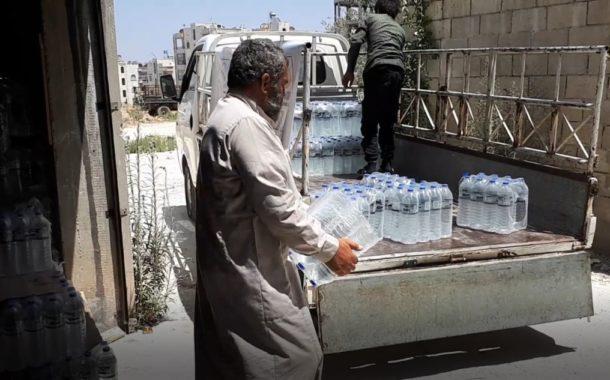 Türkmen Dağı'na Su Yardımı