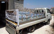 Türkmen Dağı 2 ton su yardımı
