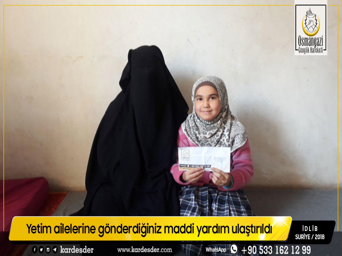 İdlib: Sokakları yetim kokan, yetimleri yardım bekleyen şehir