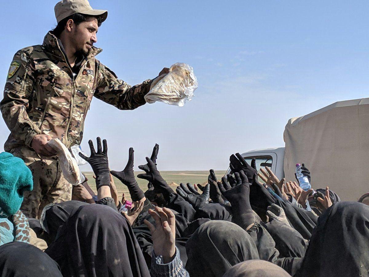 PKK'nın esir kamplarındaki Müslüman kadınların feryadını işitmez misiniz?