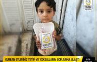 Türkmen Dağı, Halep, ve İdlib'in yetimleri Kurban etlerinizle sevindi