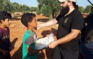 Hama'dan çıkarılan mazlum halka Almanya'dan destek