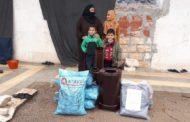 ALMANYA'DAKİ MÜSLÜMANLARDAN İDLİB'E KÖMÜR, BATTANİYE VE KIŞLIK SOBA YARDIMI