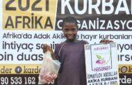 AZERBAYCAN'DAN AFRİKA'YA AKİKA KURBANI BAĞIŞI