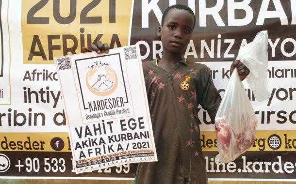 AFRİKA'NIN YETİMLERİ KURBAN BAĞIŞLARINIZ İLE HAYAT BULUYOR