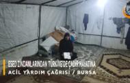 ESED ZİNDANLARINDAN TÜRKİYE'DE ÇADIR HAYATINA