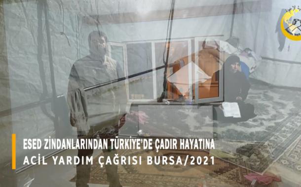 KIŞ YAKLAŞIYOR, TÜRKİYE'DE ÇADIRDA KALAN ABLAMIZI EVE YERLEŞTİRDİK AMA...